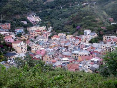 イタリアの小さな村を訪ねる旅(4) チンクエ・テッレと呼ばれる景勝地 5つの美しい村