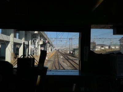 2017年冬18きっぷ3日目 「貨物」を巡る一日(?)  #1 目指す駅の反対方向へ。。。