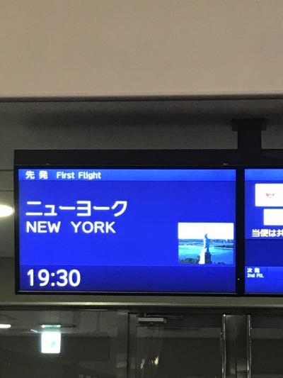 ニューヨーク5泊7日の旅 1日目