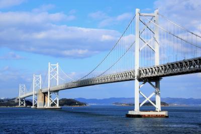 2017~2018年 年越し四国旅行 (1)高松の「年明けうどん」と瀬戸内海の絶景