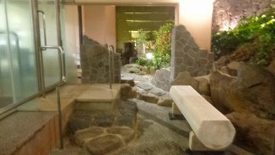 80歳の祝い旅(18) ネスタリゾート神戸 起床後ホテルの温泉に入りました。