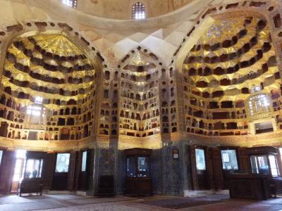 イラン北西部8 アゼルバイジャン博物館 アルダビールの聖者廟