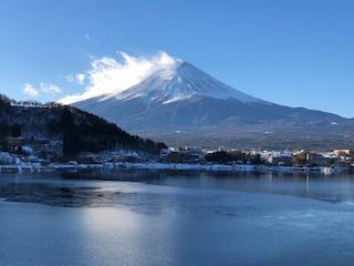 富士山でのんびり