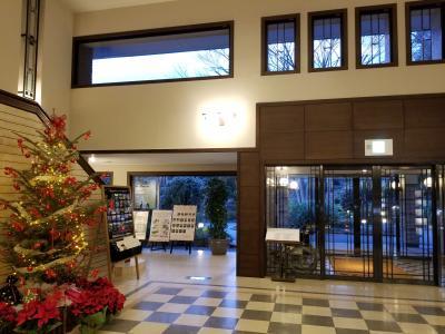 クリスマスは東急ハーベスト箱根明神平に泊まって太平洋クラブ御殿場WESTでゴルフ
