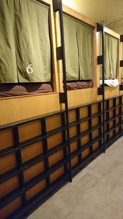浅草のゲストハウスに泊まってみた。