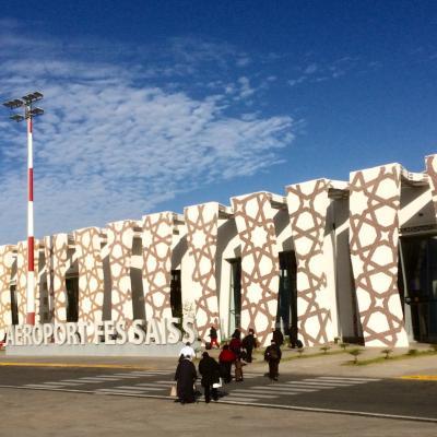 モロッコ フェズ空港から新市街までドキドキバス移動!