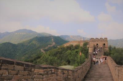 2017 AUG 真夏の北京(5/6) 万里の長城はやっぱり慕田峡長城へ  晴れて良かった