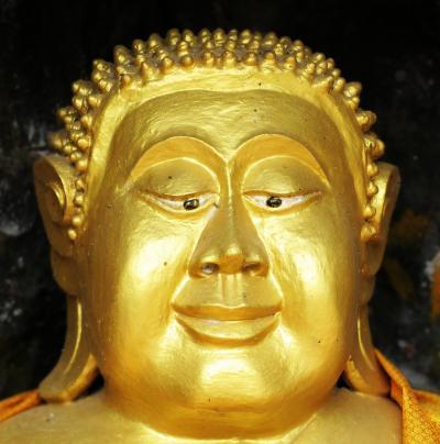 Laos メコンの宝石(14/20) 世界遺産ルアンパバン プーシーの丘の愉快なキャラたち