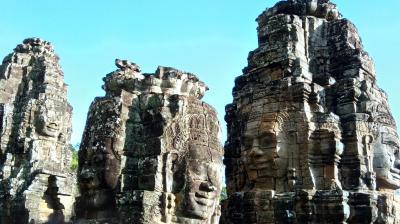 家族4人でタイ、カンボジアの遺跡巡り 1日目