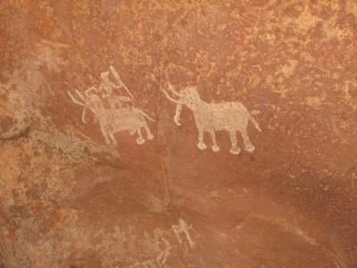 北インドで岩絵を! ついでに仏教世界遺産