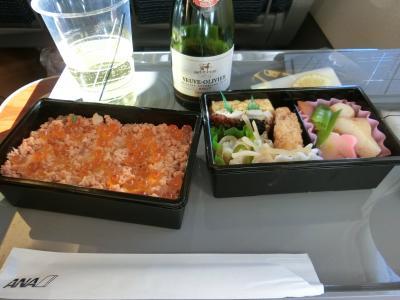 奥方様への誕生日プレゼントは金沢へ・・・?!!のはずだったのに・・・。 ~小松~羽田・復路機内編~
