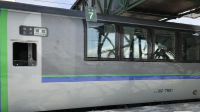 北斗グリーン席乗り納め小旅行~海の見える北舟岡駅へ~