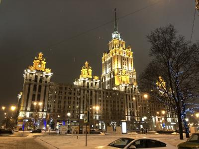 ロシア モスクワ出張