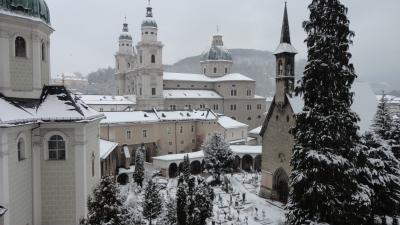 真冬のザルツブルク、ウィーン訪問記 その1(ザルツブルク)