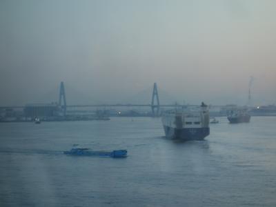コスタ・ネオ・ロマンティカは無事に名古屋に帰還。9日間のクルーズの終わりです。