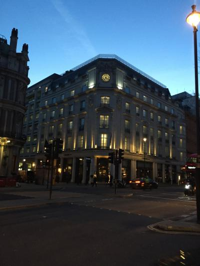 2018年 1月 4日間で弾丸世界一周の旅 その6 The Trafalgar St. James London, Curio Collextion by Hilton 宿泊記とロンドン街歩き