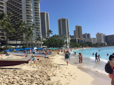 2018年1発目の旅行は 念願のハワイへ!! 低予算で物価の高いハワイをどこまで楽しめるのか?  1日目