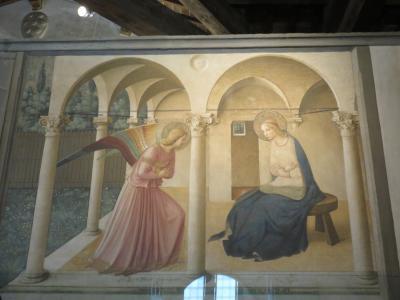 ☆...フィレンツェ美術館編...☆「サン・マルコ国立美術館」9月12日(火)凛とした雰囲気に見とれてしまいました・・アンジェリコ・と・ギルランダイオの「最後の晩餐」