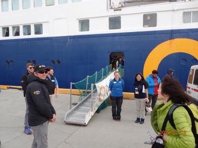 冗談から始まった南極上陸付きクルーズ旅行・ダイヤモンド・オーシャン号 NO.8 第4日目