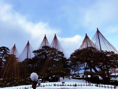 雪がちらつく金沢~日帰り散策~