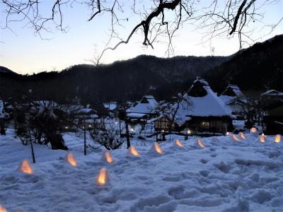 真冬の「嵐山散策」と「美山 かやぶきの里 雪灯廊 2018」でノスタルジック京都を堪能