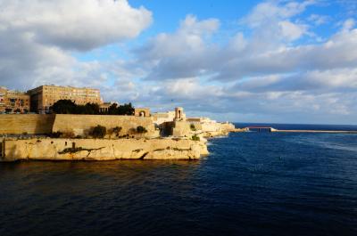 [MSCメラビリア]地中海4か国10日間の旅~その4 マルタ・終日航海日