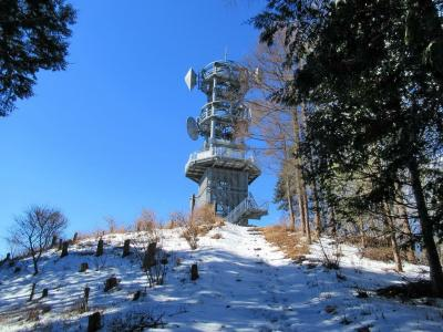雪の城峯山と秩父34番・水潜寺