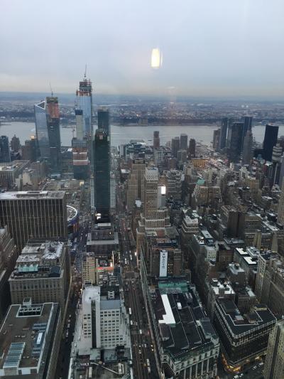 初めてのファーストクラスで、女一人旅ニューヨーク3