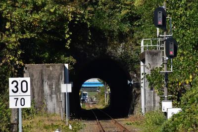 風光明媚な断魚渓と石見川本のマジオム・陸閘門(島根)