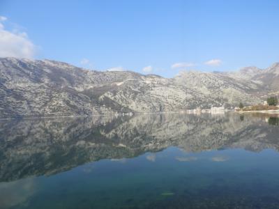 2018冬欧州:世界遺産ドブロブニク旧市街を望むスルジ山登山~montenegroへ。