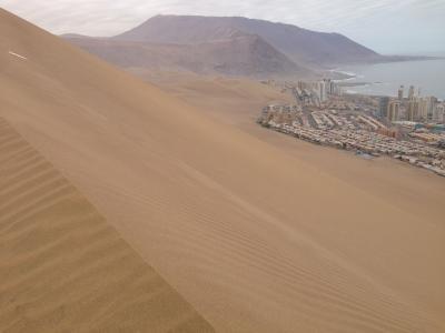 チリの街からアタカマ砂漠を縦断してウユニ塩湖へ~そして再びのチリ Part4 イキケ編