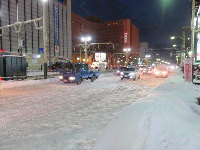 雪景色の札幌を楽しむ旅