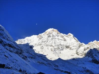 2018年1月6日 ネパール・早朝のアンナプルナ・ベースキャンプ
