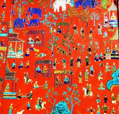 Laos メコンの宝石(17/20) 世界遺産ルアンパバンいちばんの有名寺院 ワット・シエントーン