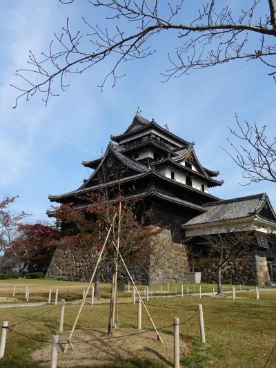 島根、松江城と出雲ばたでんの旅