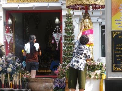 2018冬タイ(5)スコータイを見納めて、バンコク経由帰国