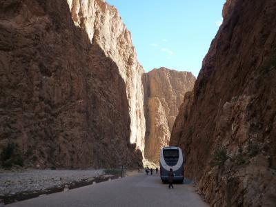 エキゾチックモロッコひとり旅9日間ツアー、ワルザザートへ前半