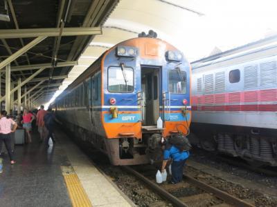 タイ国鉄バンコック~チェンマイ間グランド・シニアの鉄道旅