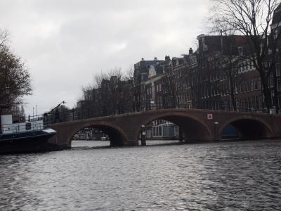 アムステルダムの運河クルーズ