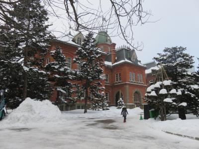 雪景色の北海道庁旧本庁舎を訪ねる
