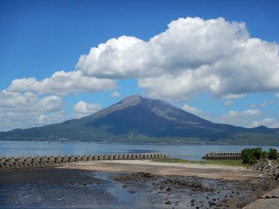 鹿児島:桜島~枕崎~市内から長島海峡を渡る(鹿熊3泊4日900km)