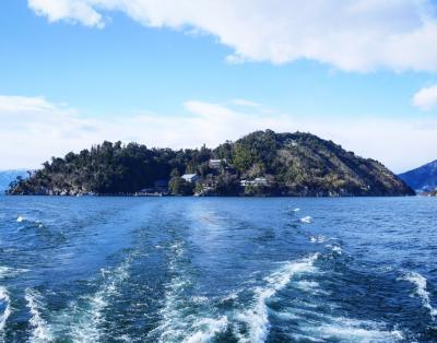 長浜港から竹生島クルーズへ