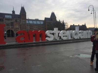 【アムステルダム】運河の街