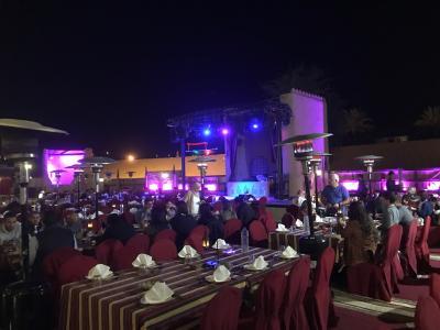 2018 スウェーデン/デンマーク/ドバイ ⑰ドバイ2日目(砂漠のレストラン Al Hadheerah)