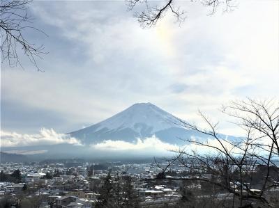 【2018年2月】冬の山梨:吉田のうどんと電車と甲府の温泉