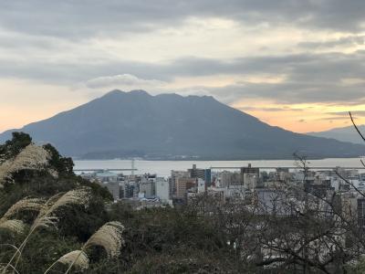 鹿児島の城山から、薩摩の義士を巡る