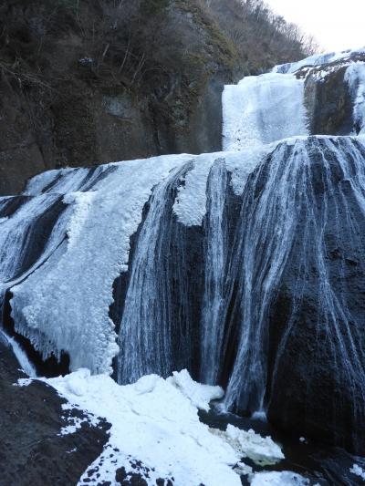 氷瀑・袋田の滝と茂木町そばの里まぎので十割蕎麦を食しカメラ博物館に寄る。
