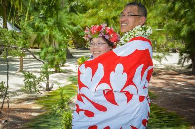 結婚25周年記念、タヒチクルーズ・ポールゴーギャン号の旅、まずは乗船前までパペーテで、