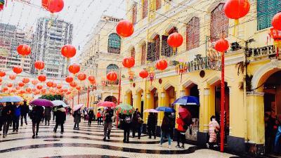 2018年初旅☆香港マカオ 食べっぱなし、歩きっぱなしの旅 3日目マカオ、4日目帰国日