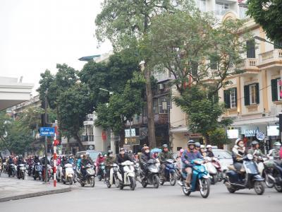 2018.2 ベトナム・ハノイの街散策